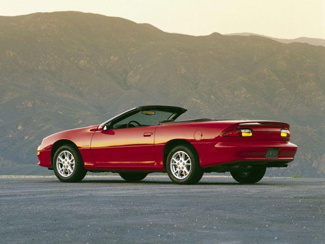 2001 Chevrolet Camaro Z28 Convertible muscle d wallpaper