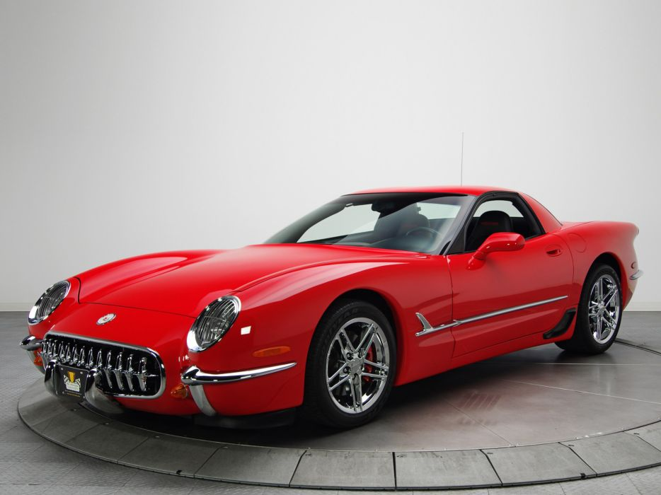 2001 Chevrolet Corvette Z06 1953 Edition muscle supercar supercars s wallpaper