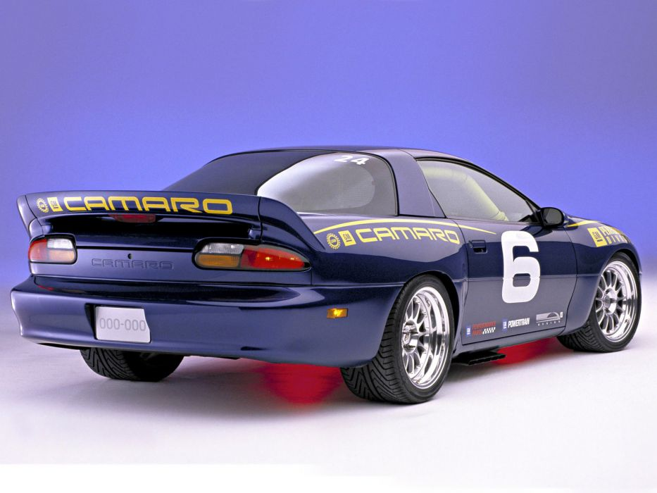 2002 C5-R-Powered Chevrolet Camaro race racing muscle supercar supercars    f wallpaper