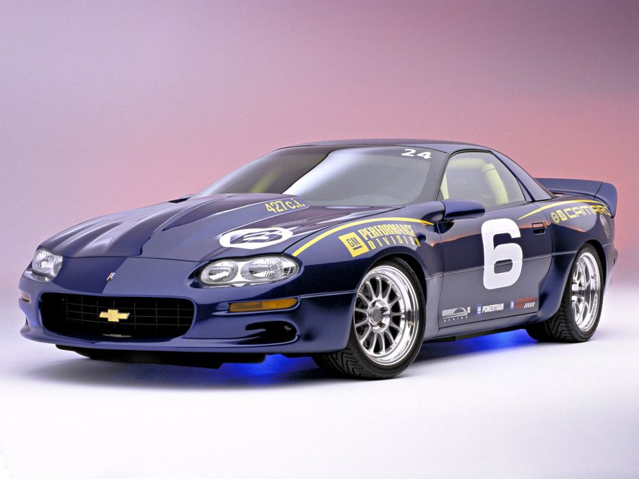 2002 C5-R-Powered Chevrolet Camaro race racing muscle supercar supercars wallpaper