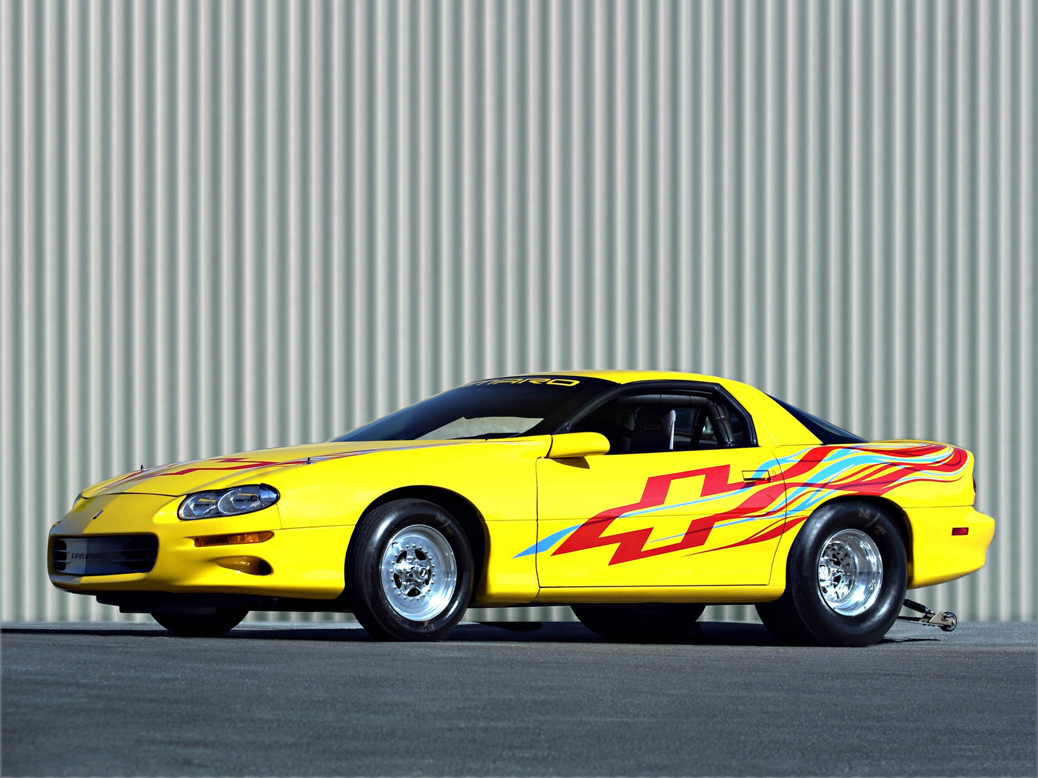 2002 Chevrolet Camaro Dragster Muscle Drag Racing Race Hot