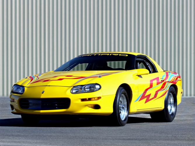 2002 Chevrolet Camaro Dragster muscle drag racing race hot rod rods wallpaper