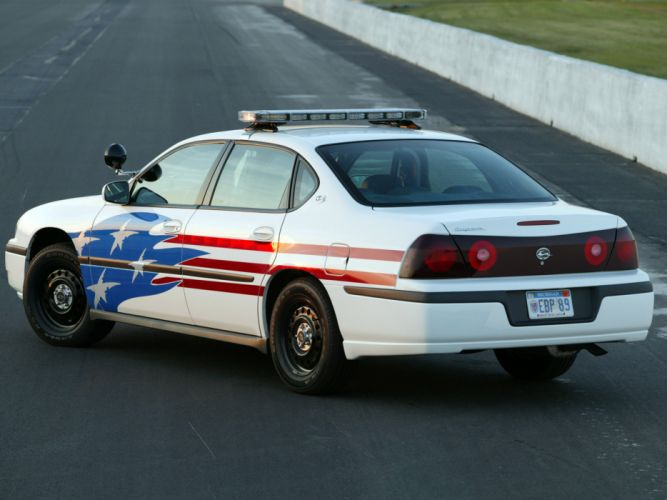 2003 Chevrolet Impala Police muscle f wallpaper