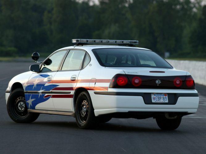 2003 Chevrolet Impala Police muscle b wallpaper