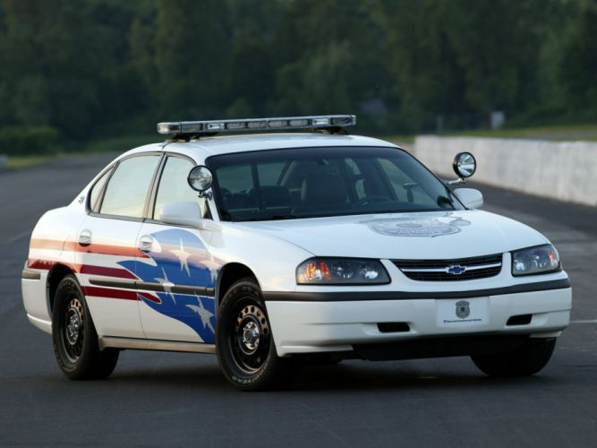 2003 Chevrolet Impala Police muscle wallpaper