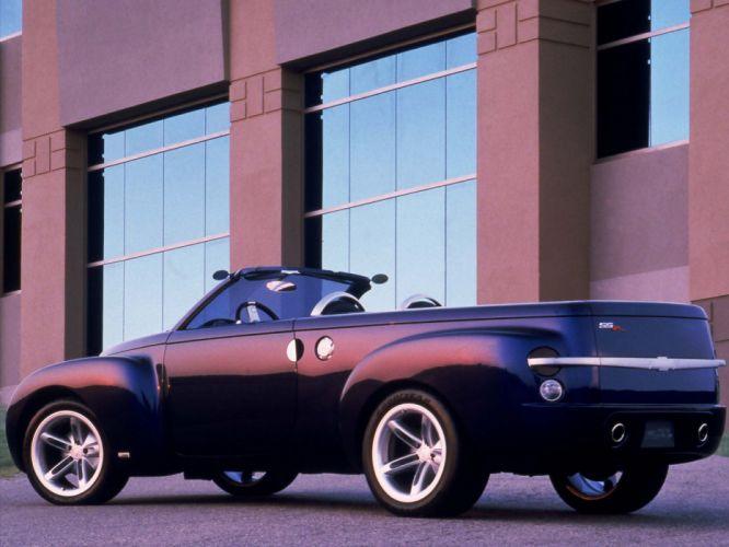 2004 Chevrolet SSR Concept muscle truck d wallpaper