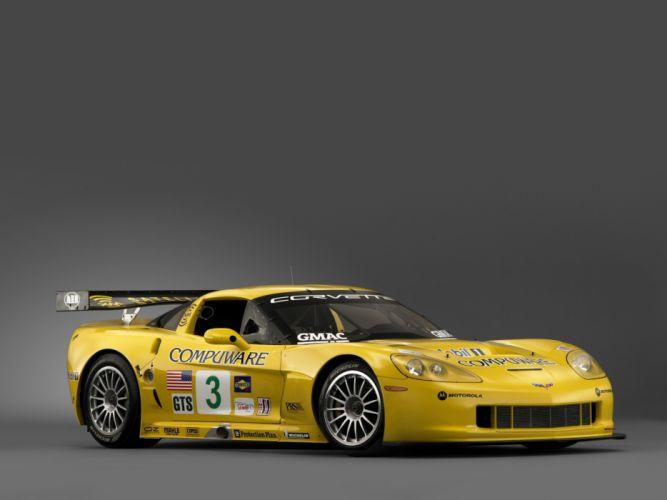 2005 Chevrolet Corvette C6R supercar supercars race racing f wallpaper