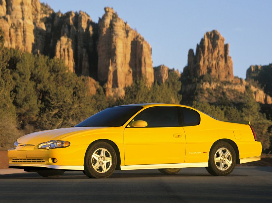 2005 Chevrolet Monte Carlo Supercharged S S Muscle Wallpaper