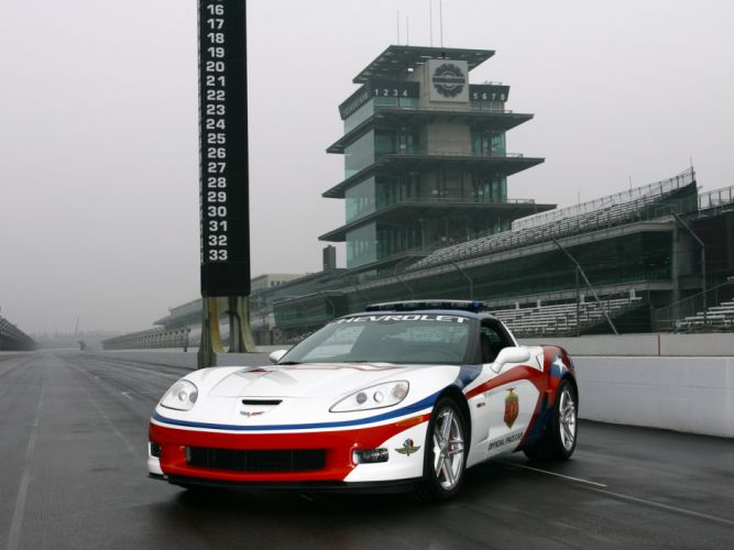 2006 Chevrolet Corvette Z06 Indianapolis 500 Pace muscle supercar supercars g wallpaper