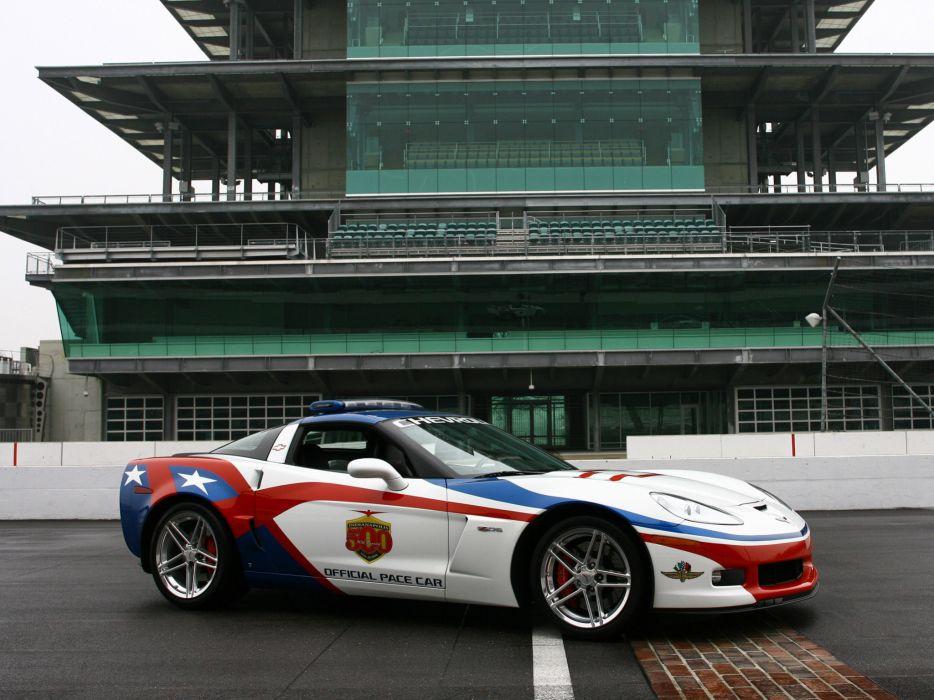 2006 Chevrolet Corvette Z06 Indianapolis 500 Pace muscle supercar supercars wallpaper