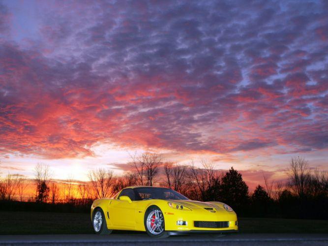 2006 Chevrolet Corvette Z06 muscle supercar supercars g wallpaper