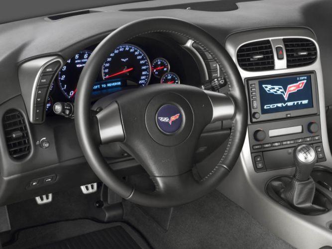 2006 Chevrolet Corvette Z06 muscle supercar supercars interior wallpaper