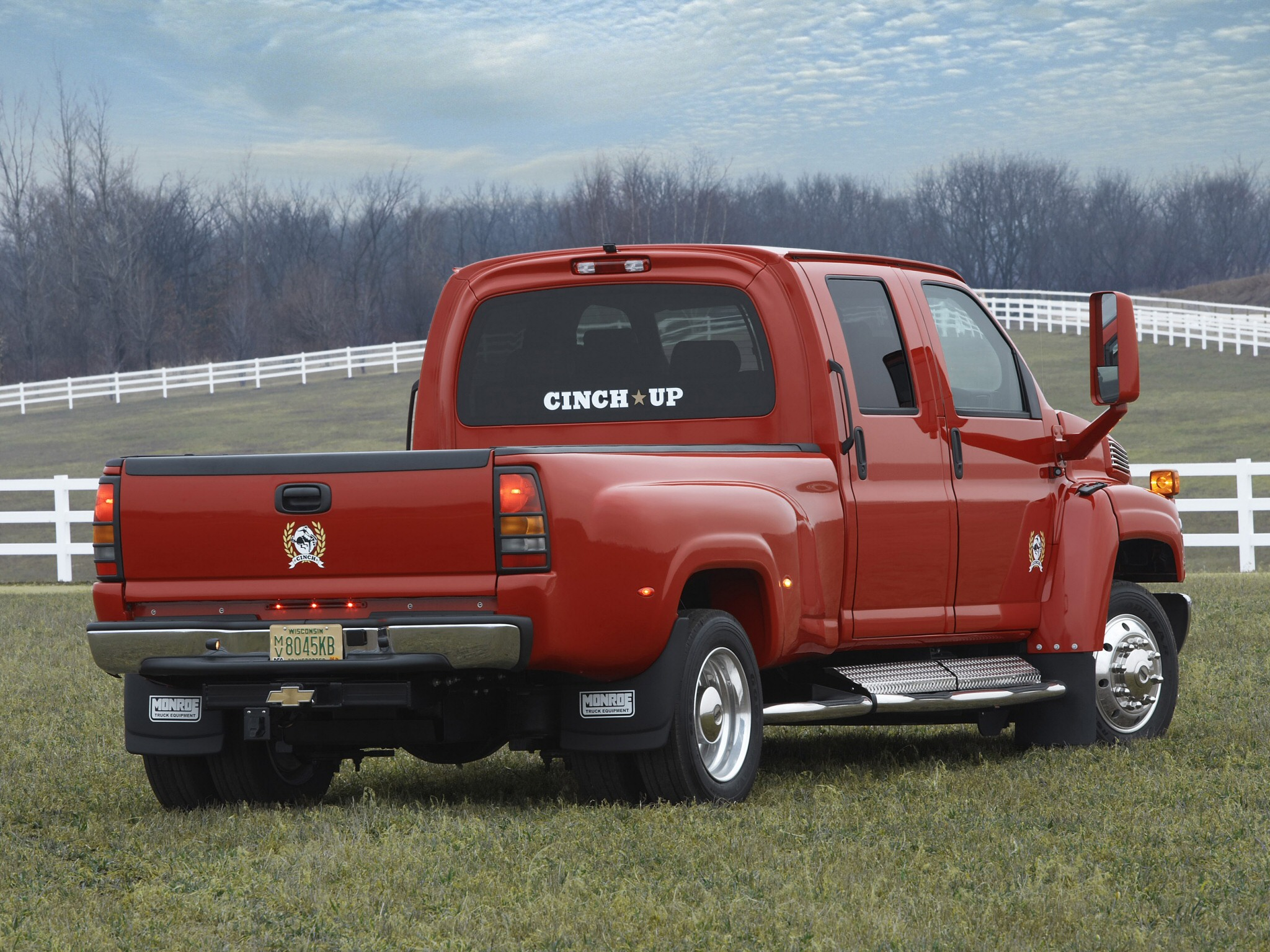 2006 Chevrolet Kodiak C4500 truck tractor semi f wallpaper