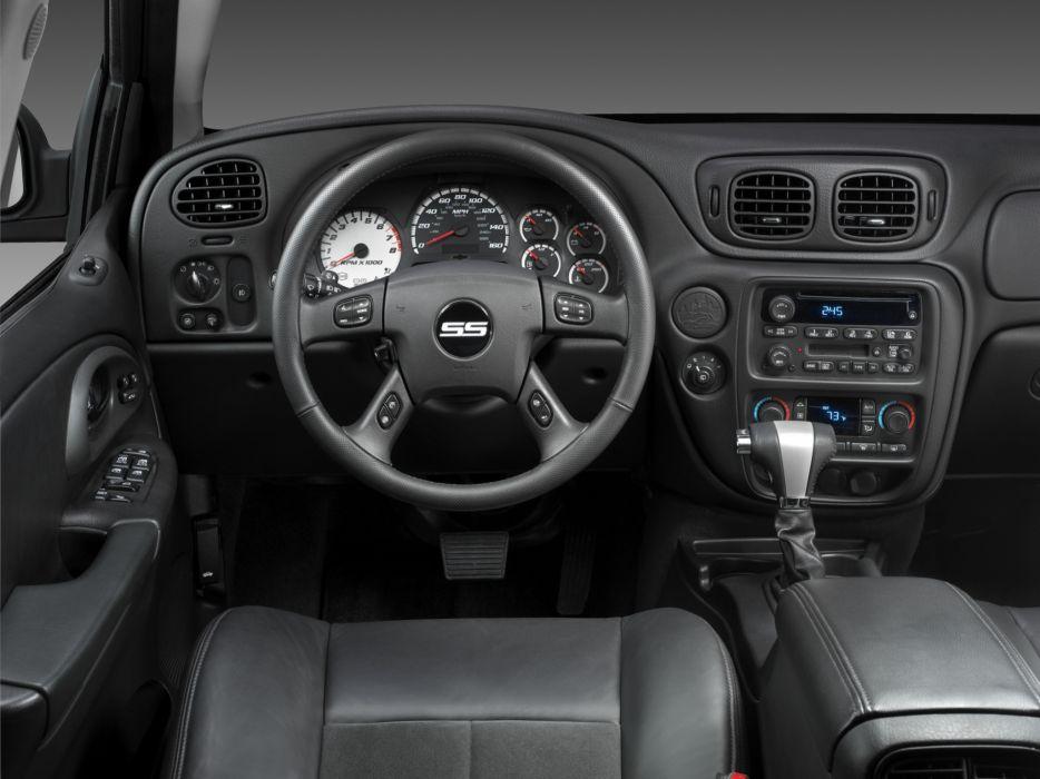 2006 Chevrolet TrailBlazer S-S muscle suv interior wallpaper