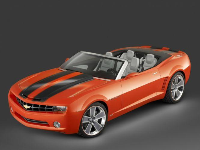 2007 Chevrolet Camaro Cabrio convertible muscle g wallpaper