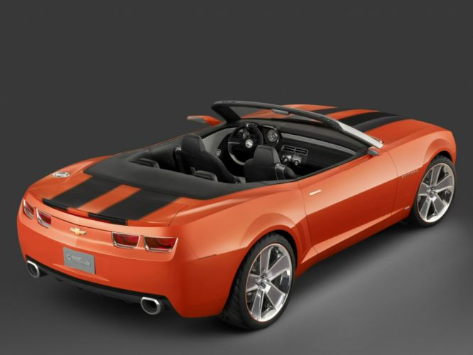2007 Chevrolet Camaro Cabrio convertible muscle interior wallpaper