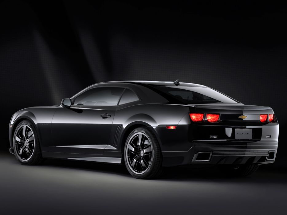 2008 Chevrolet Camaro Black Concept muscle   f wallpaper