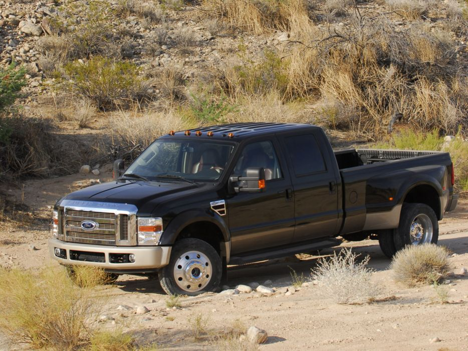 2008 Ford F-450 SuperDuty truck 4x4  f wallpaper