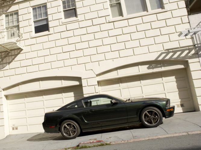 2008 Ford Mustang Bullitt muscle f wallpaper