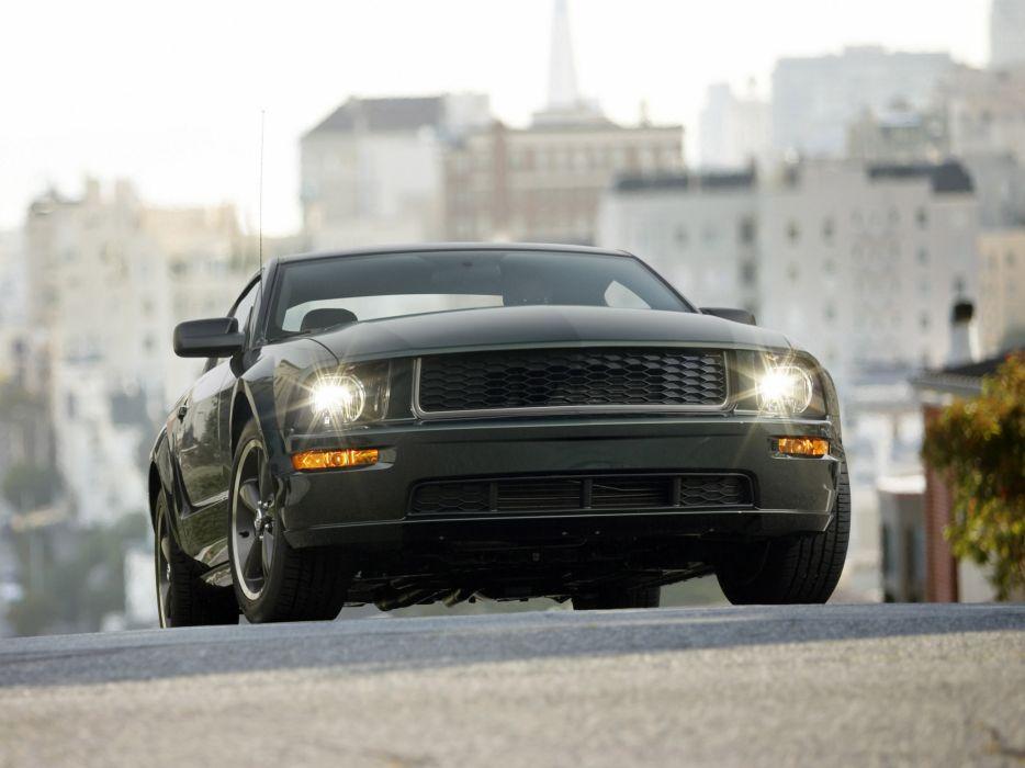 2008 Ford Mustang Bullitt muscle   d wallpaper