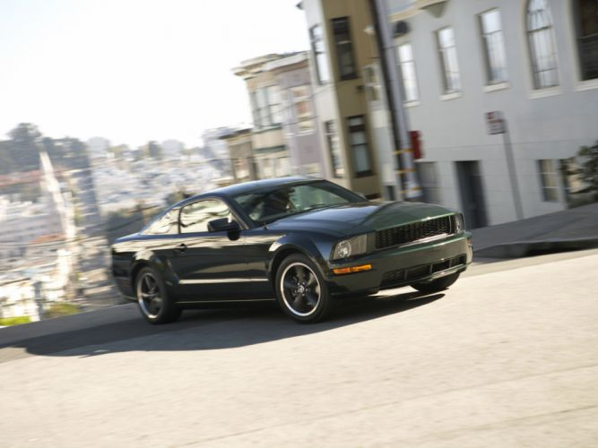 2008 Ford Mustang Bullitt muscle wallpaper