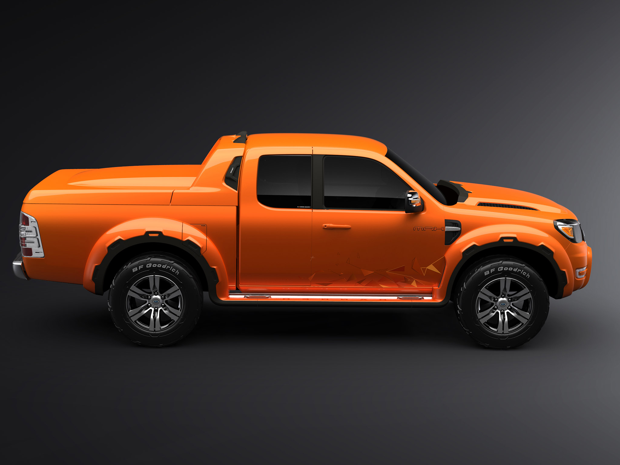 2008 Ford Ranger Max Concept truck 4x4 wallpaper ...