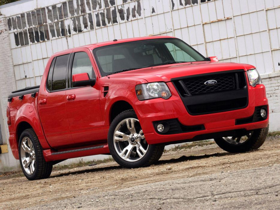 2008 Ford Sport-Trac Adrenalin truck muscle wallpaper