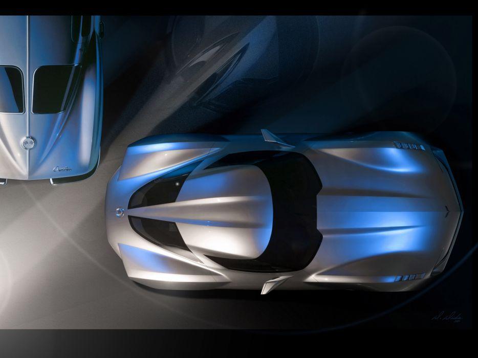 2009 Chevrolet Corvette Stingray Concept supercar supercars       g wallpaper