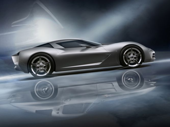 2009 Chevrolet Corvette Stingray Concept supercar supercars n wallpaper
