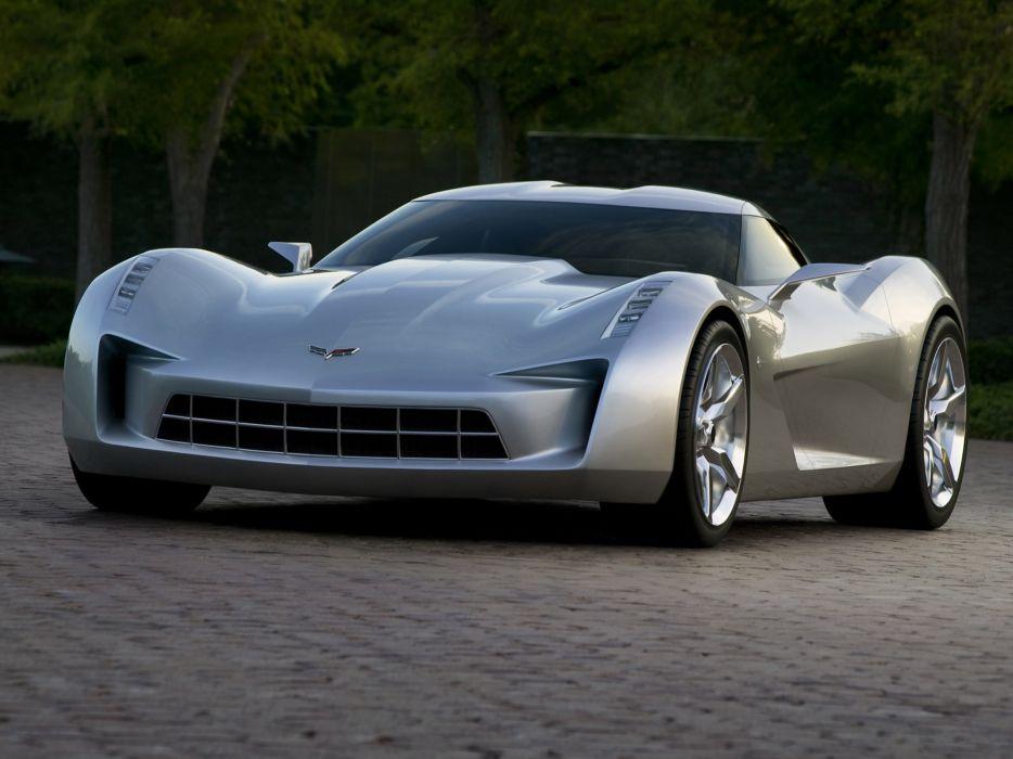 2009 Chevrolet Corvette Stingray Concept supercar supercars wallpaper