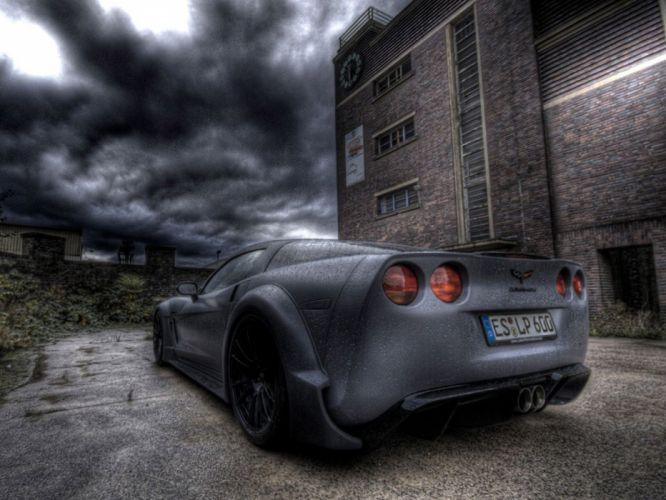 2009 Chevrolet Corvette C6 BlackforceOne muscle supercar supercars g wallpaper