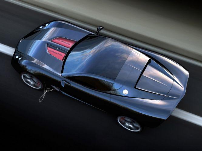 2009 Chevrolet Corvette Z03 Concept muscle supercar supercars engine engines wallpaper