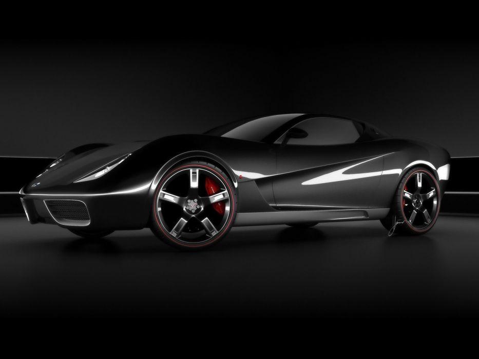 2009 Chevrolet Corvette Z03 Concept muscle supercar supercars wheel wheels wallpaper