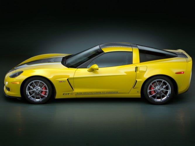 2009 Chevrolet Corvette Z06 GT1 muscle supercar supercars g wallpaper