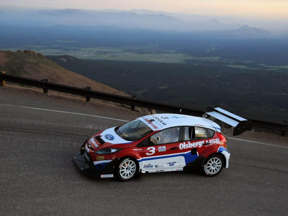 2009 Ford Fiesta Rallycross Pikes Peak race racing   f wallpaper