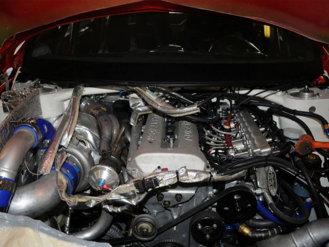 2009 Ford Fiesta Rallycross Pikes Peak race racing engine engines wallpaper