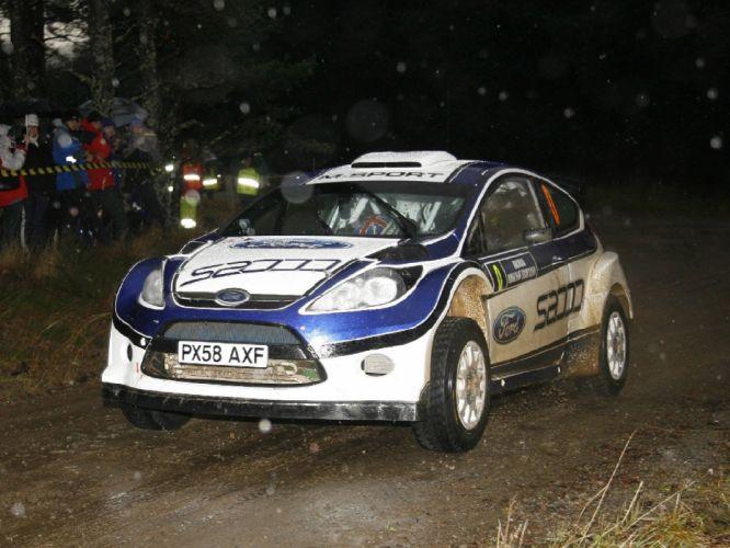 2009 Ford Fiesta S2000 race racing f wallpaper