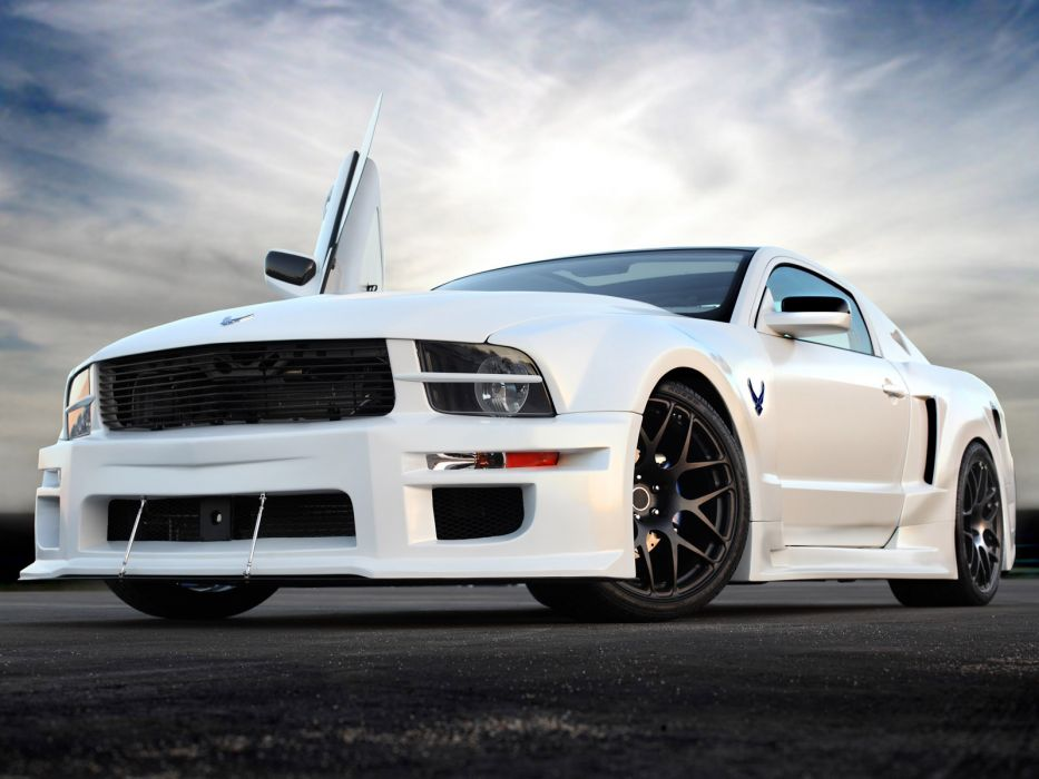 2009 Ford Mustang X-1 muscle supercar supercars  d wallpaper