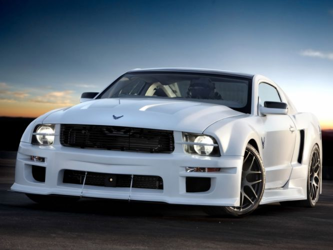 2009 Ford Mustang X-1 muscle supercar supercars wallpaper