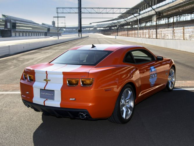2010 Chevrolet Camaro Indianapolis 500 Pace muscle race racing f wallpaper