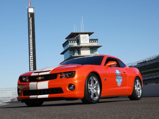 2010 Chevrolet Camaro Indianapolis 500 Pace muscle race racing g wallpaper