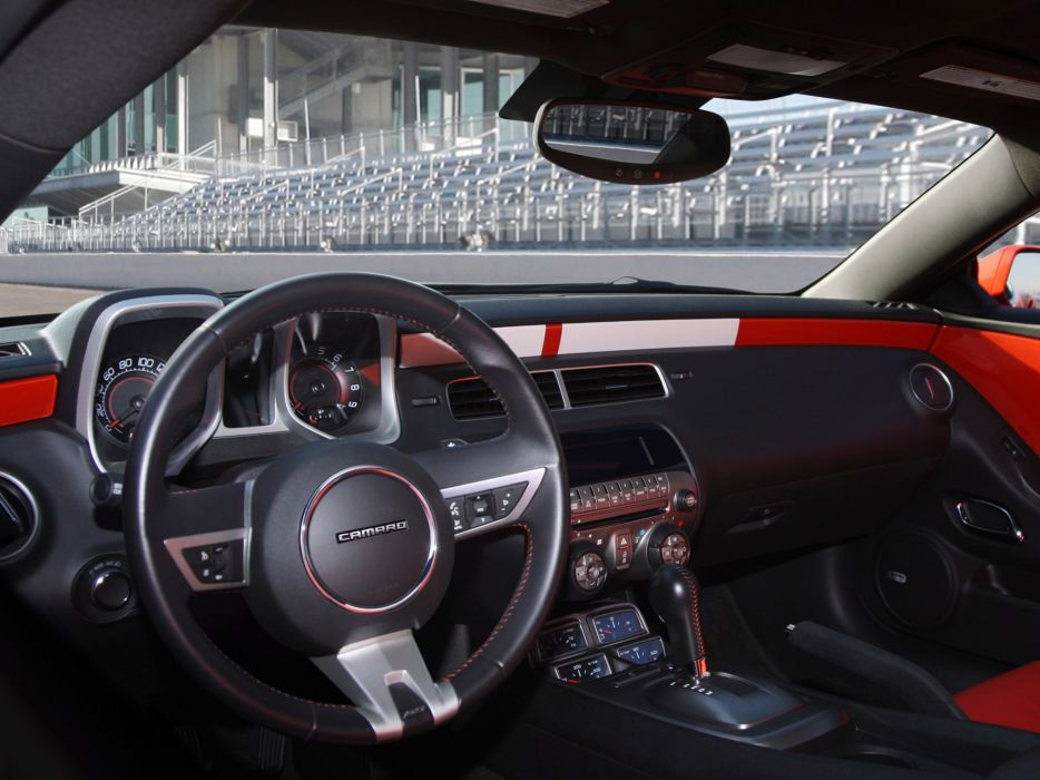 2010 Chevrolet Camaro Indianapolis 500 Pace muscle race racing interior wallpaper
