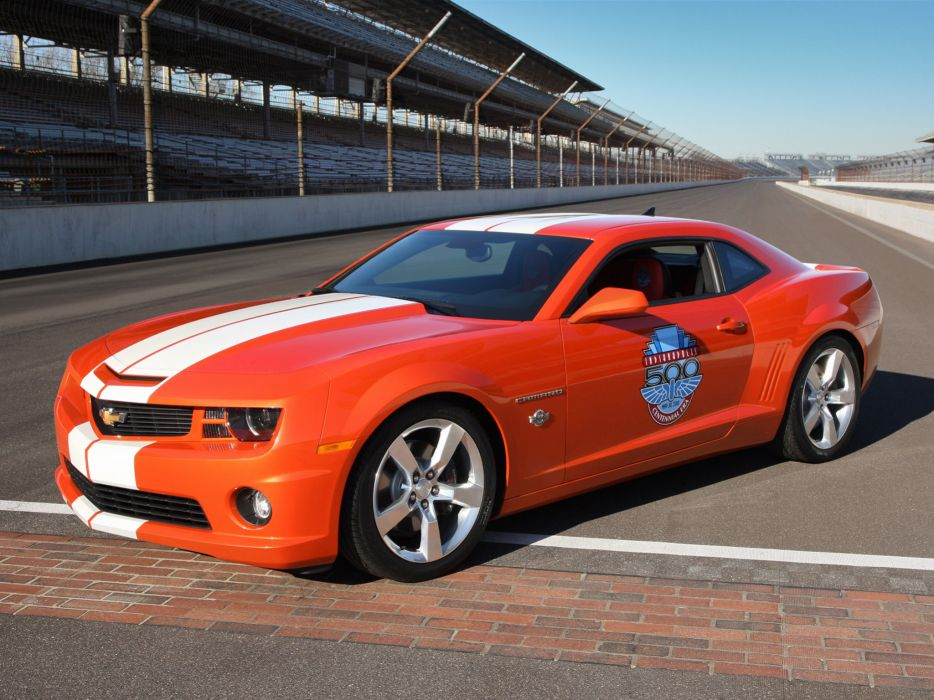 2010 Chevrolet Camaro Indianapolis 500 Pace muscle race racing wallpaper