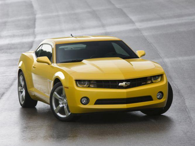 2010 Chevrolet Camaro muscle d wallpaper