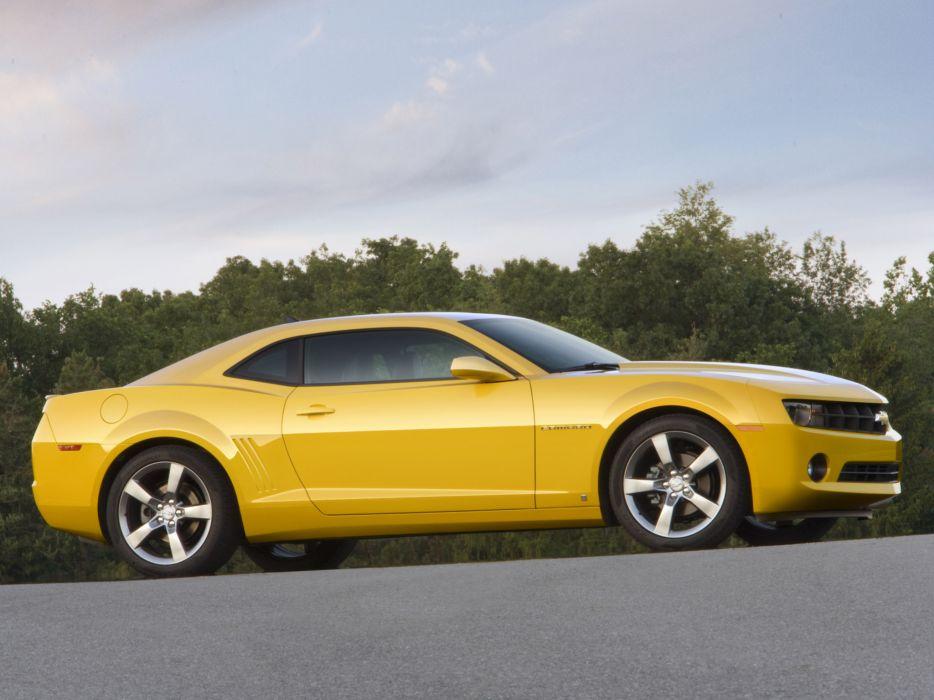 2010 Chevrolet Camaro muscle   ds wallpaper