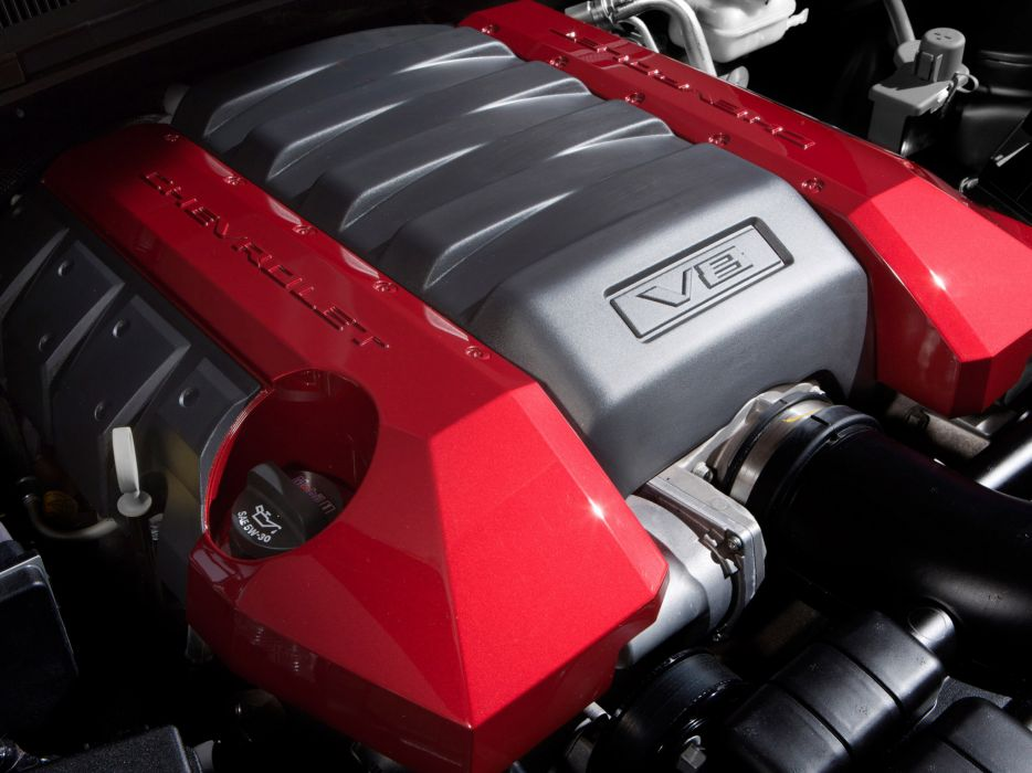 2010 Chevrolet Camaro Red Flash Concept muscle engine engines wallpaper