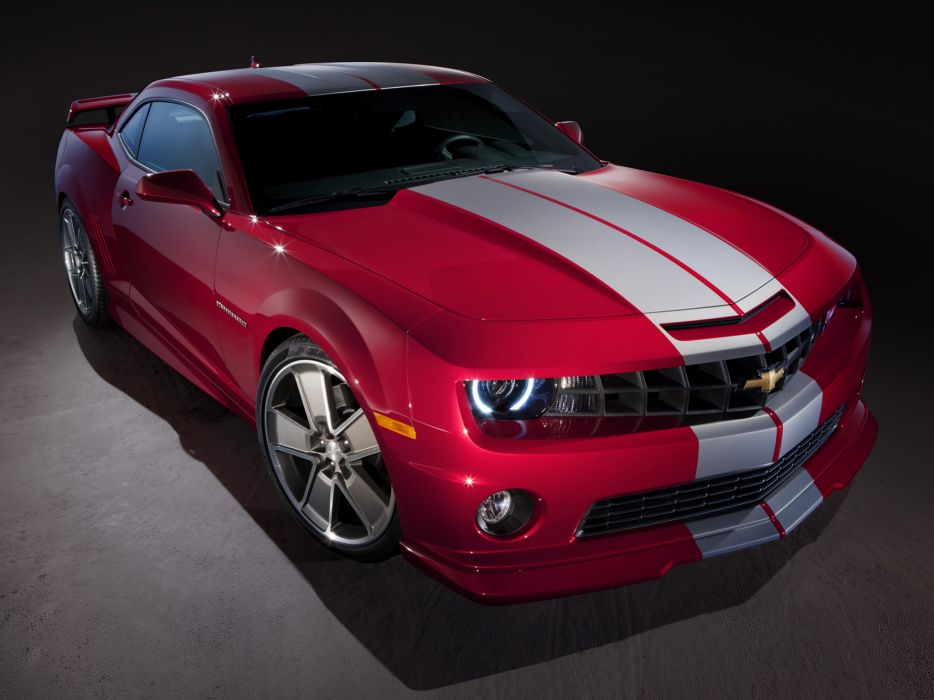 2010 Chevrolet Camaro Red Flash Concept muscle wallpaper