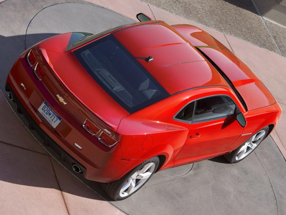 2010 Chevrolet Camaro S-S muscle     f wallpaper
