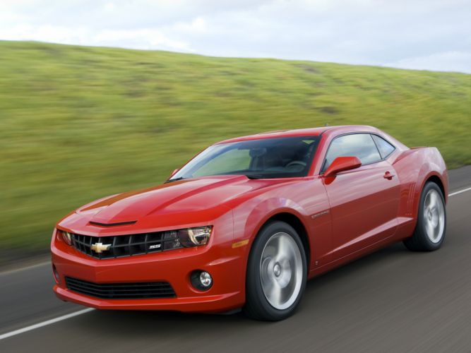 2010 Chevrolet Camaro S-S muscle f wallpaper