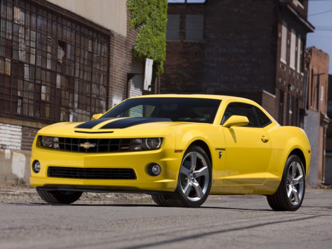 2010 Chevrolet Camaro Transformers Special muscle wallpaper